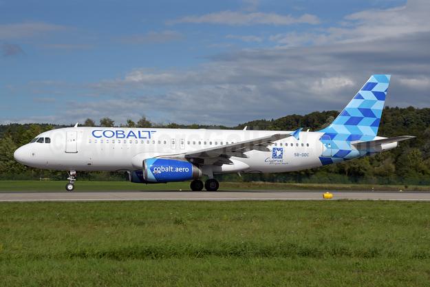 Cobalt Air (cobalt-aero) Airbus A320-232 5B-DDC (msn 3259) ZRH (Rolf Wallner). Image: 939218.