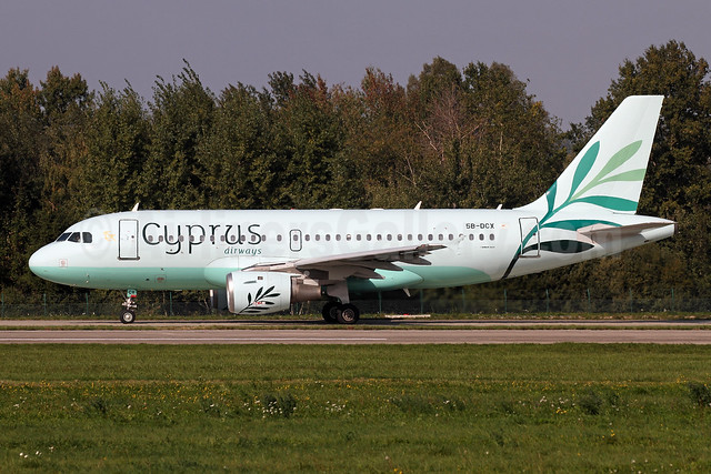 Cyprus Airways (2nd) Airbus A319-114 5B-DCX (msn 1091) ZRH (Andi Hiltl). Image: 943753.