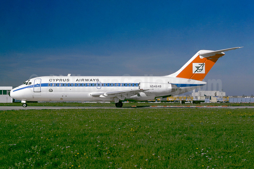Leased from Douglas on August 14, 1975