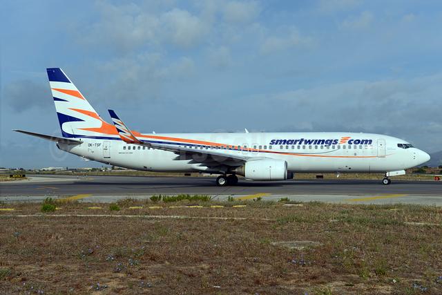 SmartWings (smartwings.com) Boeing 737-8GJ WL OK-TSF (msn 37360) PMI (Ton Jochems). Image: 934928.