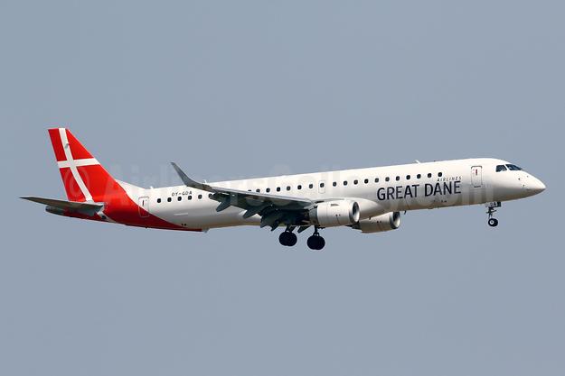 Great Dane Airlines Embraer ERJ 190-200LR (ERJ 195) OY-GDA (msn 19000213) PMI (Javier Rodriguez). Image: 946769.