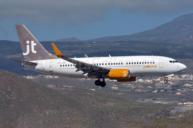 Jettime Boeing 737-7L9 OY-JTW (msn 28008) TFS (Paul Bannwarth). Image: 926709.