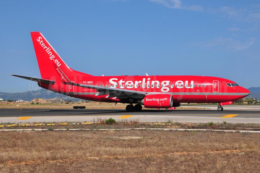 Sterling Airlines (3rd) (Sterling.eu) Boeing 737-7L9 WL OY-MRH (msn 28013) PMI (Ton Jochems). Image: 953253.