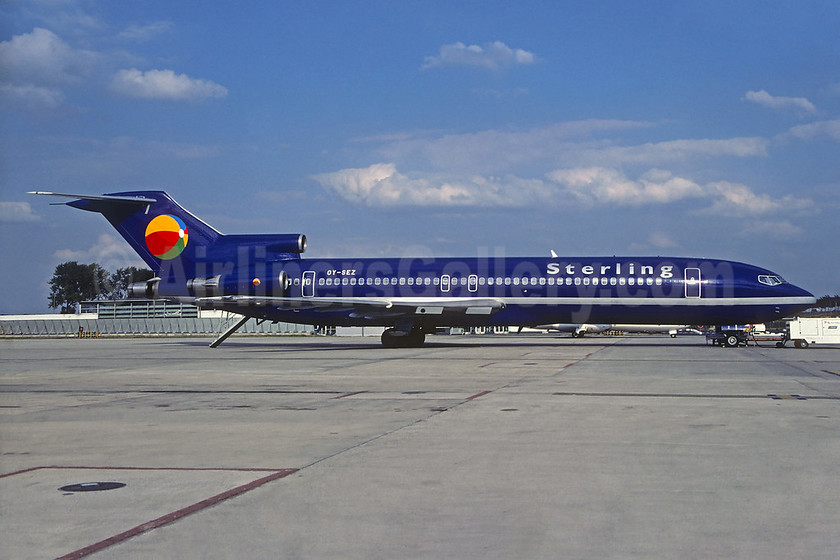 Sterling European Airlines (2nd) Boeing 727-2M7 OY-SEZ (msn 21202)  CDG (Christian Volpati). Image: 932909.