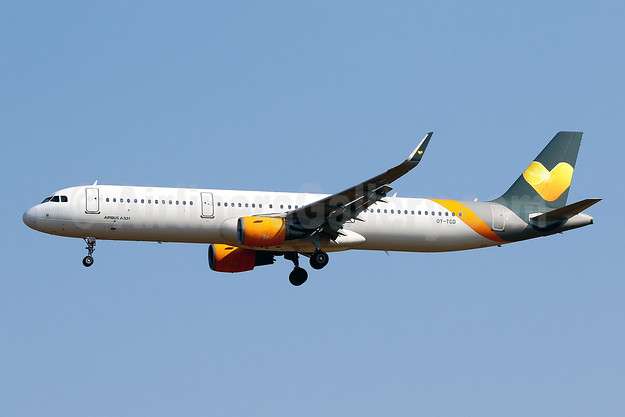 Sunclass Airlines Airbus A321-211 WL OY-TCD (msn 6314) PMI (Javier Rodriguez). Image: 950731.