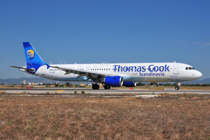 Thomas Cook Airlines Scandinavia Airbus A321-211 OY-VKC (msn 1932) PMI (Ton Jochems). Image: 953474.