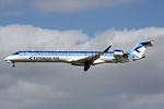 Estonian Air (Estonian Airlines) Bombardier CRJ900 (CL-600-2D24) ES-ACB (msn 15261) LGW (Terry Wade). Image: 932417.