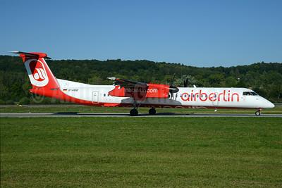 Airberlin (airberlin.com) (LGW) Bombardier DHC-8-402 (Q400) D-ABQI (msn 4264) ZRH (Rolf Wallner). Image: 929125.
