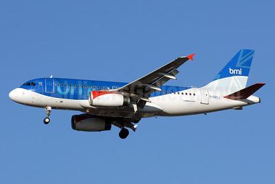 bmi (British Midland International) Airbus A319-131 G-DBCJ (msn 2981) LHR (Rolf Wallner). Image: 901387.