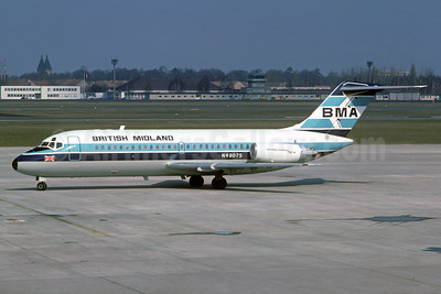 British Midland Airways-BMA Douglas DC-9-15 N48075 (msn 45723) TXL (Christian Volpati Collection). Image: 932678.