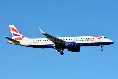 British Airways-BA CityFlyer Embraer ERJ 190-100SR G-LCYU (msn 19000674) ZRH (Paul Bannwarth). Image: 929107.