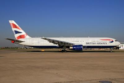 British Airways Boeing 767-336 ER G-BNWY (msn 25834) LHR. Image: 928642.