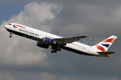 British Airways Boeing 767-336 ER G-BNWZ (msn 25733) LHR (SPA). Image: 926778.