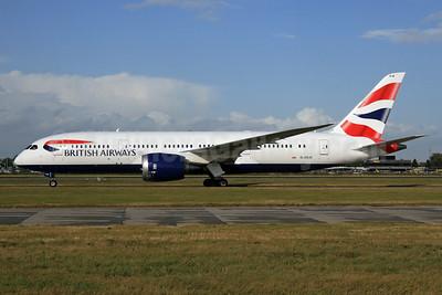 British Airways Boeing 787-8 Dreamliner G-ZBJE (msn 38612) LHR. Image: 926763.
