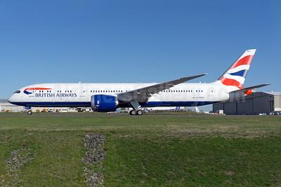 British Airways' first Boeing 787-9 Dreamliner