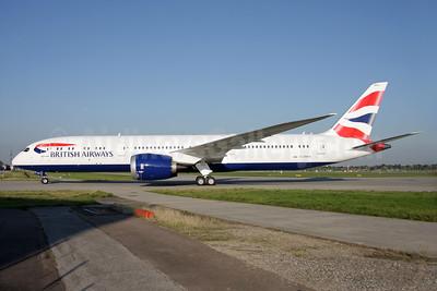 1st BA 787-9 delivered Sept. 29, 2015, arrives LHR
