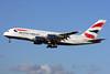 British Airways Airbus A380-841 G-XLEF (msn 151) LHR (SPA). Image: 925130.