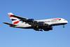 British Airways Airbus A380-841 G-XLEF (msn 151) IAD (Brian McDonough). Image: 927008.