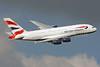 British Airways Airbus A380-841 G-XLEF (msn 151) LHR (SPA). Image: 924424.