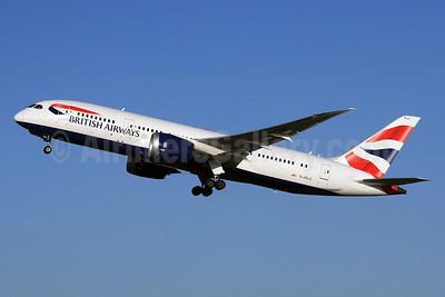 British Airways Boeing 787-8 Dreamliner G-ZBJC (msn 38611) LHR (SPA). Image: 928534.