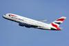 British Airways Airbus A380-841 G-XLEE (msn 148) LHR (SPA). Image: 925146.