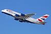 British Airways Airbus A380-841 G-XLEC (msn 124) LAX (Michael B. Ing). Image: 928794.