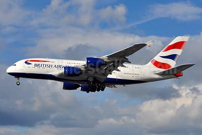 British Airways Airbus A380-841 G-XLEG (msn 161) LHR (Tony Storck). Image: 930162.
