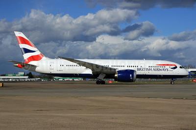 British Airways Boeing 787-8 Dreamliner G-ZBJC (msn 38611) LHR. Image: 926762.