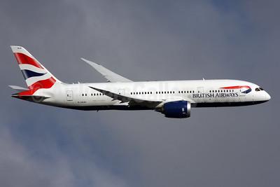 British Airways Boeing 787-8 Dreamliner G-ZBJH (msn 38615) LHR (SPA). Image: 928536.