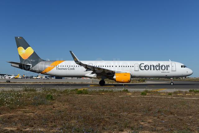 Condor Flugdienst-Thomas Cook Airbus A321-211 WL D-AIAD (msn 6053) PMI (Ton Jochems). Image: 923488.