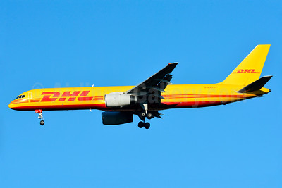 DHL (European Air Transport Leipzig) Boeing 757-23APF D-ALEJ (msn 24971) BSL (Paul Bannwarth). Image: 929008.