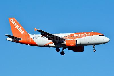 easyJet (UK) Airbus A319-111 G-EZDA (msn 3413) BSL (Paul Bannwarth). Image: 929160.
