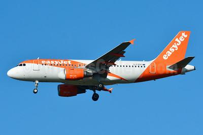 easyJet (UK) Airbus A319-111 G-EZDP (msn 3675) BSL (Paul Bannwarth). Image: 929086.