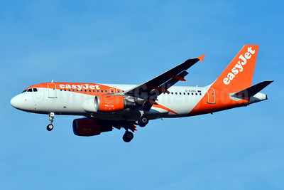 easyJet (UK) Airbus A319-111 G-EZDL (msn 3569) BSL (Paul Bannwarth). Image: 929086.