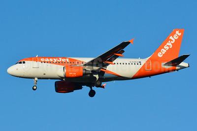 easyJet (UK) Airbus A319-111 G-EZEV (msn 2289) BSL (Paul Bannwarth). Image: 929088.