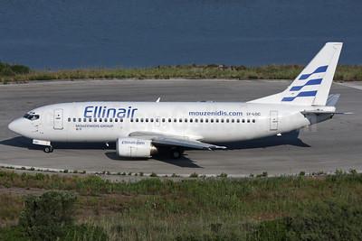 Ellinair Boeing 737-382 LY-LGC (msn 24365) CFU (Antony J. Best). Image: 928712.