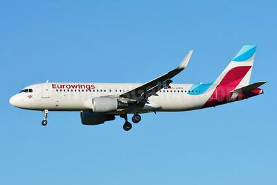 Eurowings Airbus A320-214 WL D-AIZQ (msn 5497) ZRH (Paul Bannwarth). Image: 929113.