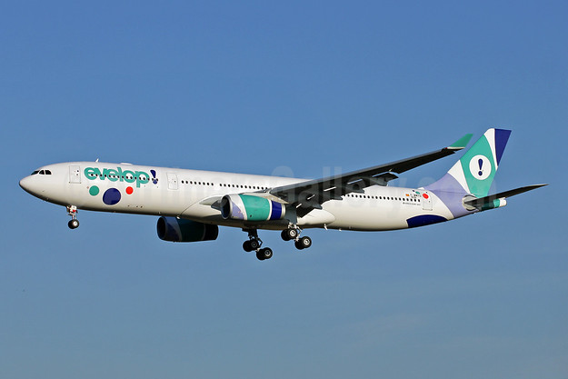Evelop's first Airbus A330 in the new livery