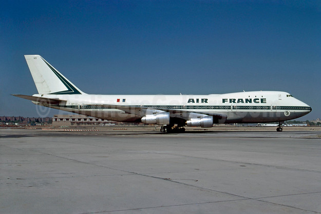 Air France Boeing 747-128 F-BPVD (msn 19752) JFK (Bruce Drum). Image: 102866.