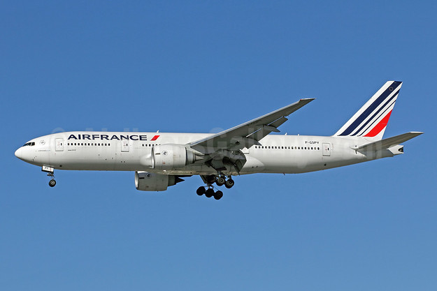 Air France Boeing 777-228 ER F-GSPY (msn 32305) LAX (Michael B. Ing). Image: 907499.