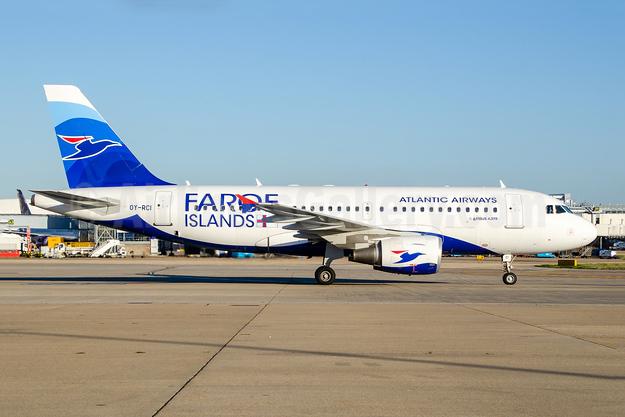 Atlantic Airways-Faroe Islands Airbus A319-112 OY-RCI (msn 3905) LHR (Wingnut). Image: 945292.