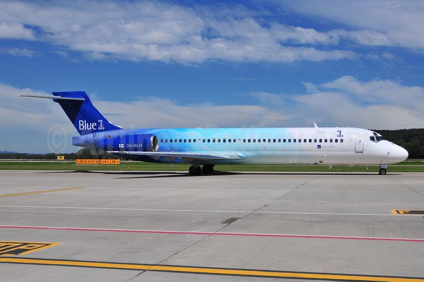 Blue1 Boeing 717-2CM OH-BLH (msn 55060) ZRH (Ton Jochems). Image: 953328.