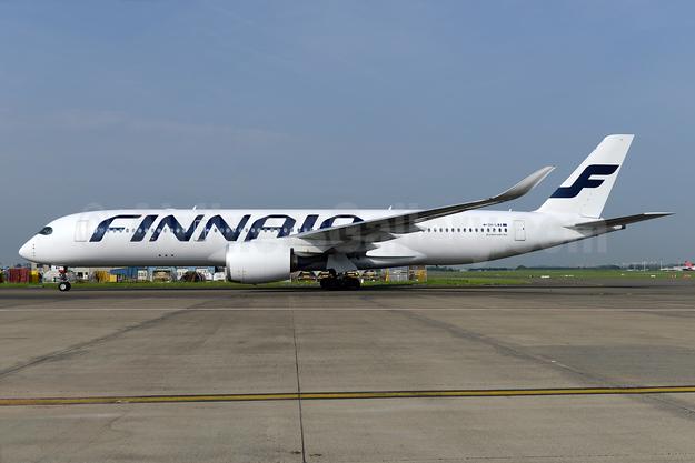 Finnair Airbus A350-941 OH-LWA (msn 018) BRU (Ton Jochems). Image: 932911.