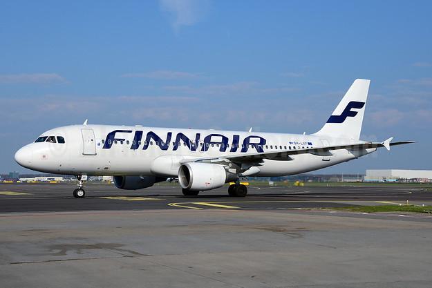 Finnair Airbus A320-214 OH-LXF (msn 1712) AMS (Ton Jochems). Image: 912732.