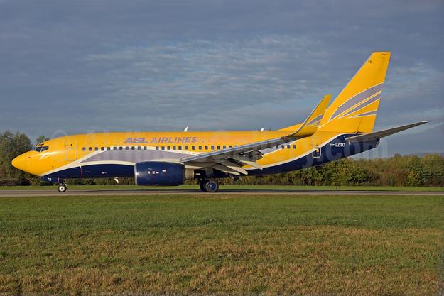ASL Airlines (France) Boeing 737-73V WL F-GZTD (msn 32418) (Europe Airpost colors) ZRH (Rolf Wallner). Image: 939511.