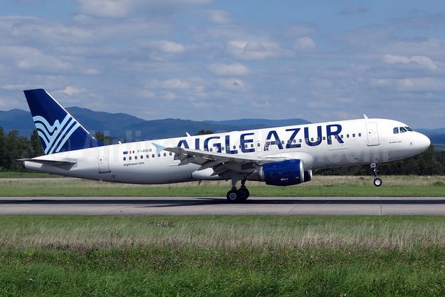 Aigle Azur Transport Aeriens (2nd) Airbus A320-214 F-HBIB (msn 3289) BSL (Paul Bannwarth). Image: 924048.