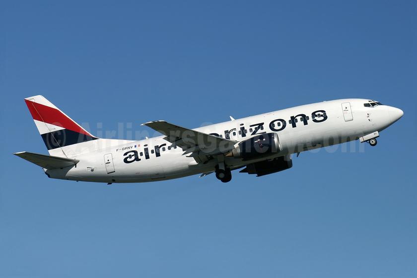 Air Horizons Boeing 737-329 F-GRNV (msn 24356) BOH (Antony J. Best). Image: 934073.
