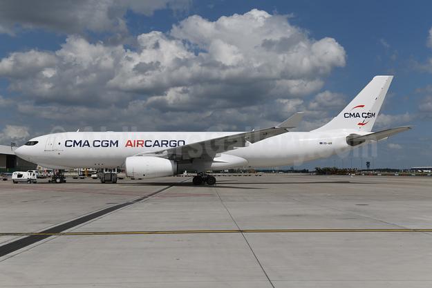 CMA CGM Air Cargo (Air Belgium 2nd) Airbus A330-243 (F) OO-AIR (msn 1708) BRU (Ton Jochems). Image: 954585.