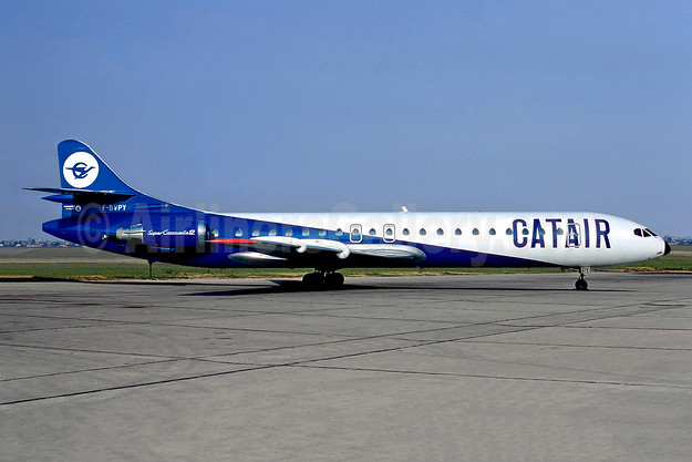 Catair Sud Aviation SE.210 Caravelle 12 F-BVPY (msn 271) ORY (Christian Volpati). Image: 902326.