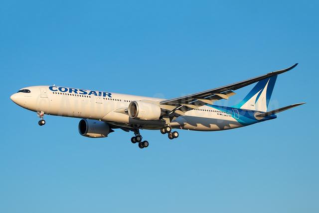 Corsair International Airbus A330-941 F-WWCG (F-HRNA) (msn 1986) TLS (Eurospot). Image: 953309.